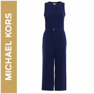 Michael Kors Navy Jumpsuit